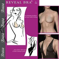 Braza Bra Disposable Adhesive Bra for Plunging Necklines and Open Sided Clothing