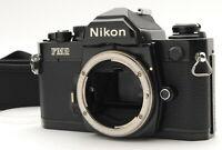 """EXC+++++"" NIKON NEW FM2 BLACK 35mm SLR MF FILM CAMERA body From Japan"