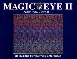 Magic Eye: Vol 2 by Smith, Cheri Hardback Book The Cheap Fast Free Post