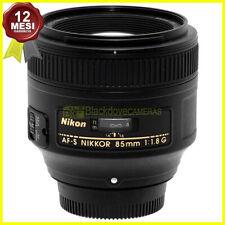 Obiettivo Nikon AF-S Nikkor 85mm f1,8 G Tele Full frame per fotocamere FX e DX.