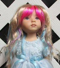 "Doll Wig, Monique Gold ""Cj"" Size 7/8 in Fantasy Gems (Factory sample - 25% Off)"