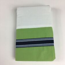 Nautica BeachComber Standard Pillow Sham 100% Cotton Ribbon Retired Nip