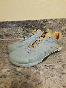 Mens Reebok Crossfit Nano 4.0 M47670 Denim Glow Cross Training Shoes Size 10.5