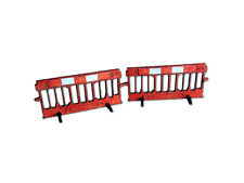 LASER CUT ROADWORKS SAFETY BARRIER OO GAUGE MODEL RAILWAY 1:76 OO SCALE LX023-OO