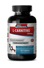 Weight Loss Super Strength L-Carnitine 500mg  Amino Acid Pills 1 Bottle