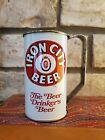 "Iron City beer can mug. ""Handy"" handle Pittsburgh Pennsylvania"