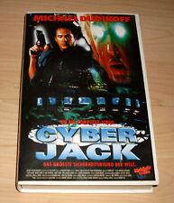 VHS - Cyber Jack - Michael Dudikoff - Science-Fiction Thriller - Videokassette