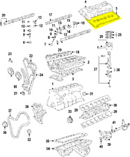 New Genuine BMW OEM Valve Spring Retainer 11 34 7 539 917 Upper Spring Plate