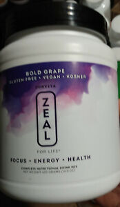 Zurvita Zeal for Life 30-Day Wellness Canister Bold Grape - New!!