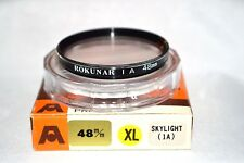 Rokunar NEW 48 mm 1A Screw-In Filter Made in Japan with Case &  Box (T-6)
