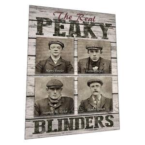 """The Birmingham Peaky Blinders"" Wall Art - Graphic Art Poster"