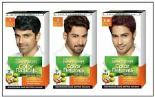Garnier Men's Color Naturals, Natural Black, Burgundy, Darkest Brown Hair Color