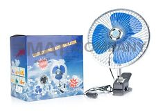 "8"" Auto Mini Ventilator schwenkbar Klammer Lüfter Fan 12V Mini Klimaanlage"