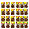24x Magic Tree Little Trees Leather Scent Fragrance Car Van Air Freshener Packs