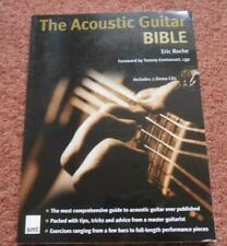 The Acoustic Guitar BIBLE Eric Roche includes 2 Demo CDs (still sealed)