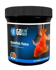 Go Aquarium Goldfish Flakes pack of 4 1.23 oz / 35 grams each