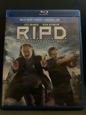 R.I.P.D. Rest in Peace Department Blu-ray/DVD Used