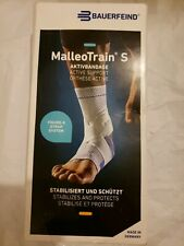 Bauerfeind MalleoTrain S Aktivbandage Ankle Support - SMALL/RIGHT Size 1 (CL340)