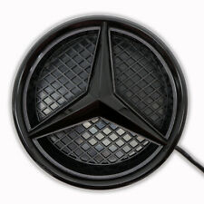 Black For Mercedes Benz W205 W212 Illuminated Led Front Star Grille Emblem Light