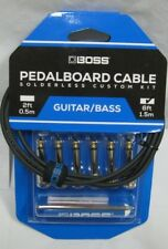 boss roland pedalboard cable solderless custom kit bck6 6 ft custom cable pedal