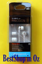 Sennheiser CX 300-II Precision Earphones White New