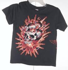 Ed Hardy BOYS SIZE- 5/6  BLACK T-Shirt NWT