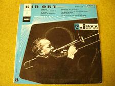 LP 10'' -25 cm KID ORY-TROMBONE-JAZZ POUR TOUS-PHILIPS P 07.799 R