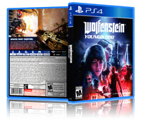 Wolfenstein: Youngblood - ReplacementPS4 Cover and Case. NO GAME!!