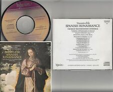 JAPAN CDA 66168 HYPERION- Treasures Of The Spanish Renaissance Guerrero/Lobo CD