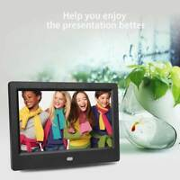 CORNICE DIGITALE 7'' USB FOTO VIDEO MP3/4 Sveglia JPG SD TXT AVI TELECOMANDO
