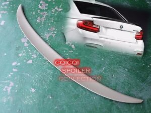 Painted BMW 14~20 F22 2-series coupe performance type trunk spoiler color:475 ◎