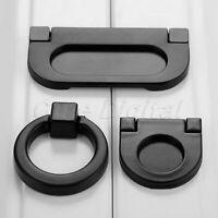 Retro Black Furniture Drawer Pull Handle Ring Kitchen Cabinet Drawer Door Knobs