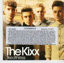 (EL506) The Kixx, Breathless - 2011 DJ CD