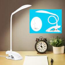 Lampe De Bureau Usb Lumière De Lecture 14 Led Avec Capteur Tactile À Clipser