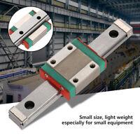 1pc LML12B Miniature Linear Rail Guide 12mm Width with 1pc Slide Block for CNC