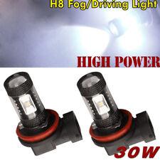 2Stk H8 H11 LED Birnen 7000K weiß hohe Leistung 30W Nebel-Licht DRL Lampen 30W