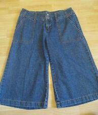 Michael Kors Capris Cropped Skimmer Jeans Blue Denim Womens Size 4 IMPERFECT