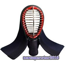 Kendo Fencing Sport Protective Gear Helmet Mask Full Head Face Guard Cover Shell