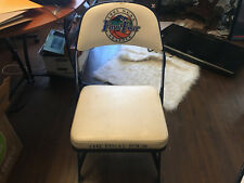 VINTAGE GAME USED SIDELINE CHAIR COLLEGE BASKETBALL FINAL FOUR SEATTLE 1995
