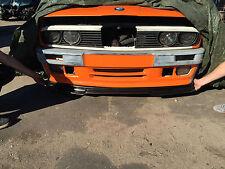 BMW E30 E34 3 5 series Front Bumper spoiler lip gtr chin M Power tuning csl m5