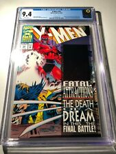 X-Men # 25 (10/93) CGC Graded Comic Book 9.4 NM White Pages Hologram Cover
