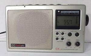 Sangean C Crane CC Radio Plus AM/FM/TV/Weather Alert Radio
