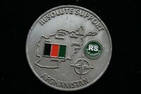 NATO Resolute Support Afghanistan Challenge Coin