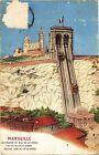 CPA Marseille-Ascenseur de Notre Dame de la Garde (185692)