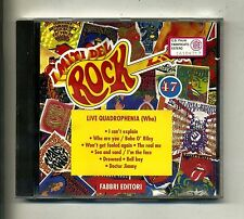 I Miti del Rock n.47 # WHO - LIVE QUADROPHENIA # Fabbri 1993 # CD Rock
