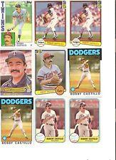 18 CARD BOBBY CASTILLO BASEBALL CARD LOT           102