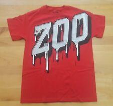 ZOO YORK Red White Black Graphic T-Shirt MENS MEDIUM Skateboarding Excellent
