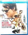 Blu-Ray Mission Impossible - Rogue Nation con Tom Cruise 2015 Usato