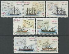 LAOS N°777/783** bateaux, voiliers, Capex 1987, sailing ships Sc#788-794 MNH