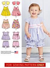 SEWING PATTERN! MAKE DRESS~JUMPER~PANTALOONS~BOLERO~TOP! BABY GIRL PREEMIE~24 LB